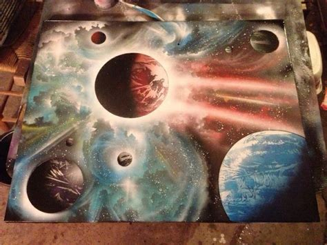 spray painting on canvas 16 best ideas about my from outer space on