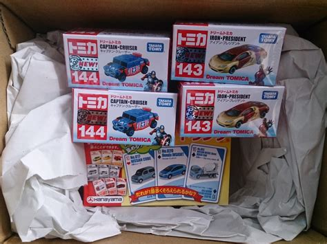 Tomica Set Captain America Cruiser Ii 2 toys lover indonesia