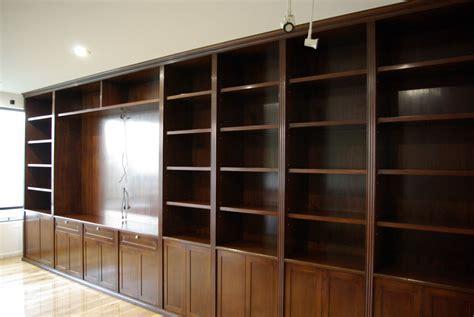 libreros de madera libreros