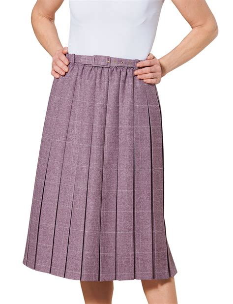 pleated skirt 25 inches ebay