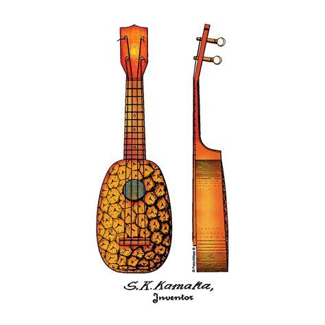 ukulele design instagram pineapple ukulele mug patentwear