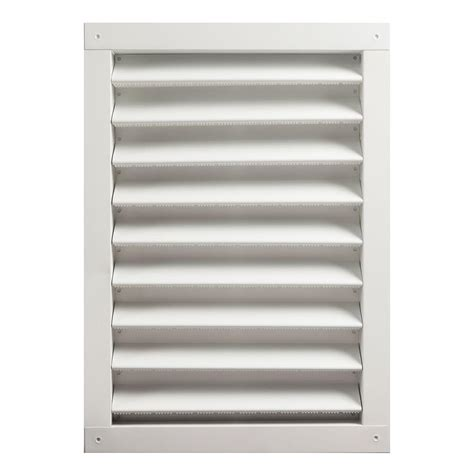 air vent 18 in dia electric gable vent fan master flow 12 in x 18 in aluminum wall louver static