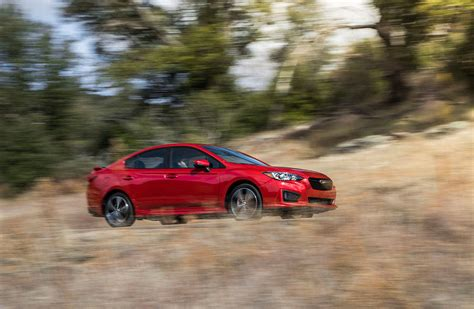 sporty subaru impreza 2017 subaru impreza is surprisingly sporty spacious