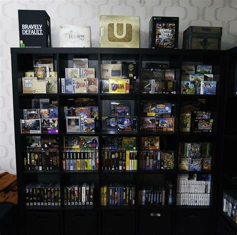 Nintendo Shelf nintendo shelf gaming rooms setups rigs shelves and nintendo