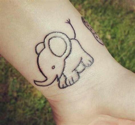 tattoo elephant baby baby elephant tattoo pretty tats pinterest