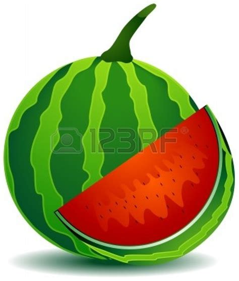 Semangka Vektor watermelon vector clipart panda free clipart images