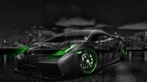 Neon Lamborghini Lamborghini Gallardo City Car 2014 El Tony