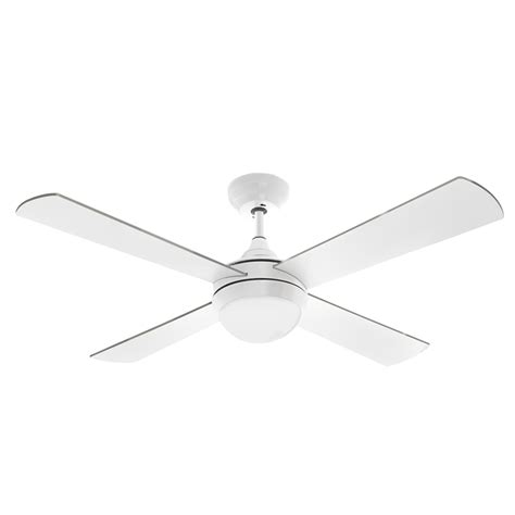 ceiling fan white arlec 120cm white columbus ceiling fan with led light and