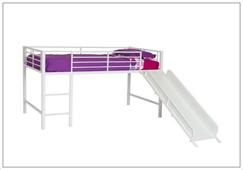metal loft bed with slide metal loft bed with slide and tent home design ideas