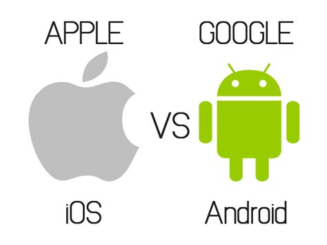 what operating system does android use apple s ios vs s android operating system technology source