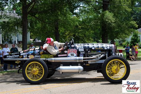 andy shaw ford the great race stops in monticello seark today