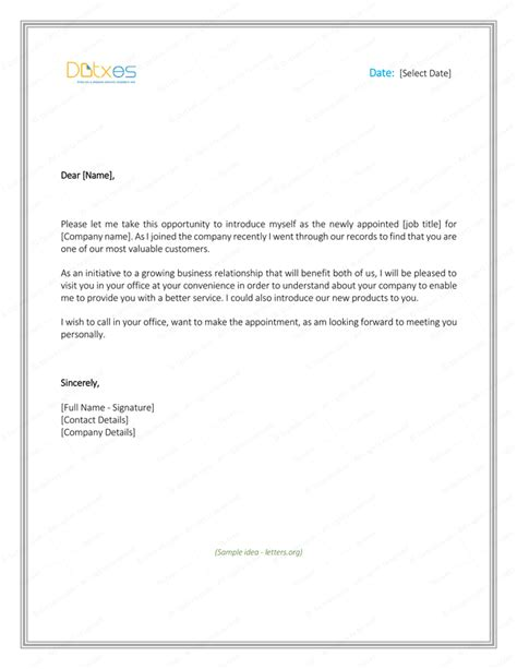 Introduction Letter Of Yourself For Employment best introduction letter formats you should use to