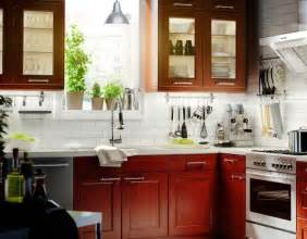 white and cherry kitchen cabinets white tile backsplash with cherry cabinets kitchen