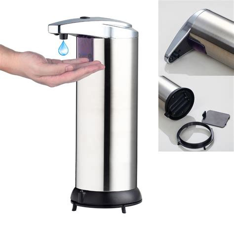 Ideas Design For Touchless Soap Dispenser ᗛfree Shipping 400ml Automatic ᗐ Soap Soap Dispenser Touchless Sanitizer Dispenser Sensor ᐂ Soap