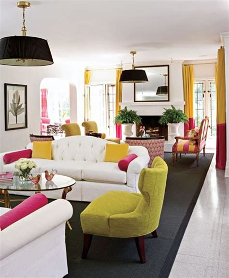 really cool colorful living room at awesome colorful