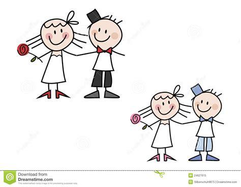 Komik 12 Engaged couples mignons de mariage de dessin anim 233 photo libre de