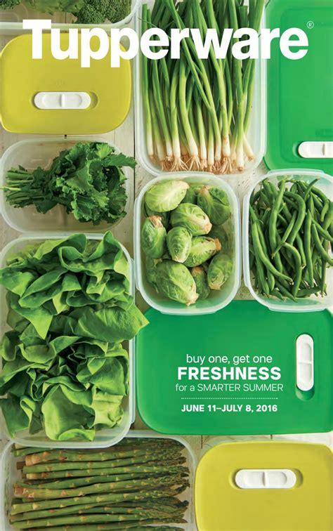 Tupperware Large Summer Fresh Kotak usa 2016 mid june tupperware flyer by mytwpage issuu