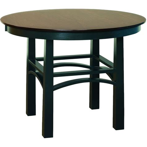 Next Bar Table Artesa Single Pedestal Pub Table Amish Pub Tables Amish Tables