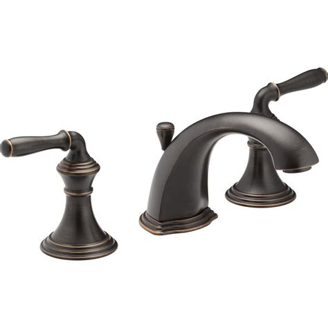 oil bronze faucets bathroom kohler k 394 4 cp devonshire polished chrome two handle