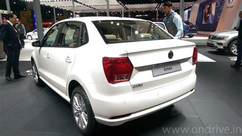 volkswagen ameo white volkswagen ameo compact sedan with cruise control rain