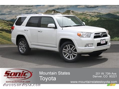 Mtn States Toyota 2012 Toyota 4runner Limited 4x4 In Blizzard White Pearl