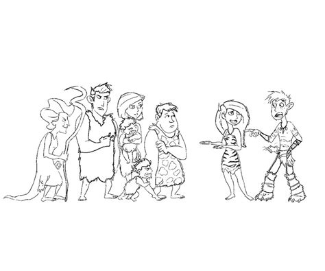 the croods coloring sheets coloring pages