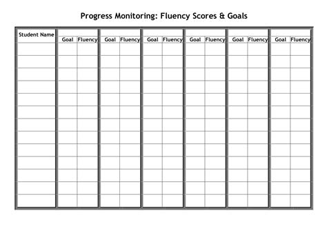 printable table graphs progress monitoring charts printable printable maps