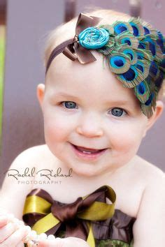 1 pcs baby headband peacock feather rhinestone princess 1000 images about baby ideas on