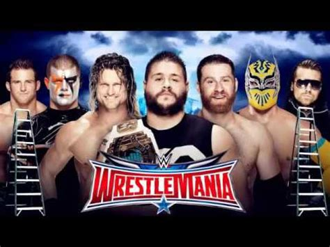 theme song wrestlemania 2015 wwe wrestlemania 32 theme song for ladder match youtube