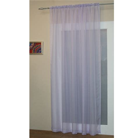 bedroom curtain rod voile net slot top rod pocket curtain panel bedroom