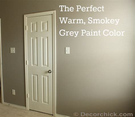 shades of grey i found the smokey grey paint color decorchick