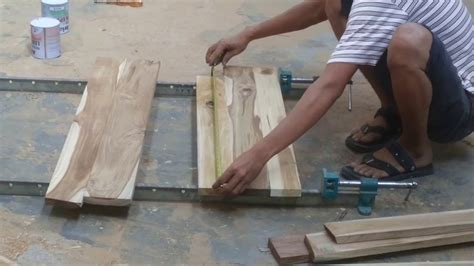 cara membuat yel yel terbaik teknik menyatukan potongan kayu jd papan dengan lem