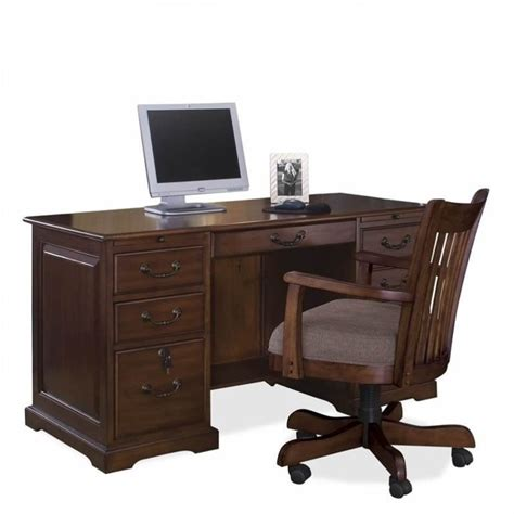flat computer desk riverside furniture cantata flat top computer desk 4954