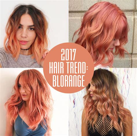 the hottest hair trends for 2017 glamour uk blorange hair colour at voodou hair salons in liverpool