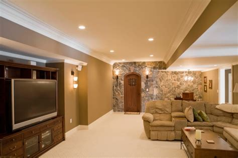 big basements 63 finished basement quot cave quot designs awesome pictures