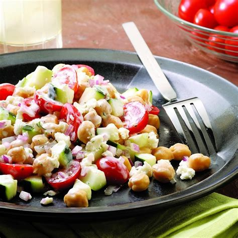 chickpea salad chickpea salad recipe dishmaps