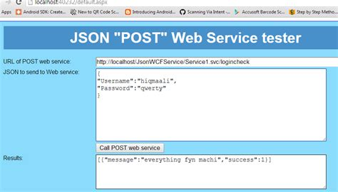 membuat web service dengan php json java different ways to post json values to server