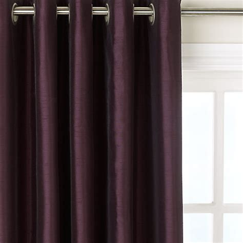 john lewis silk curtains buy john lewis faux silk blackout lined eyelet curtains