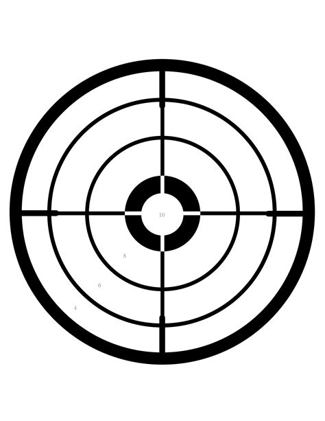free printable targets 8 5 x 11 the gallery for gt printable shooting targets 8 5 x 11