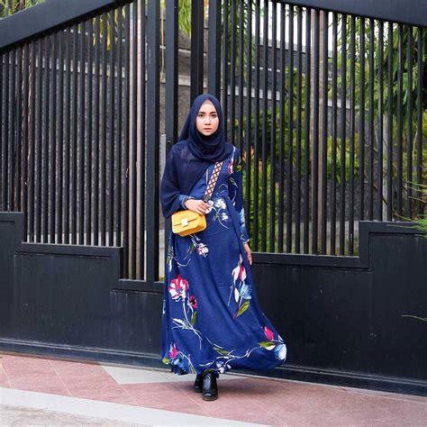 desain baju hijab terbaru 18 trend model baju hijab 2018 terbaru desain casual modern