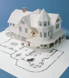 How To Make 3d Out Of Paper - best photos of 3d house paper patterns paper