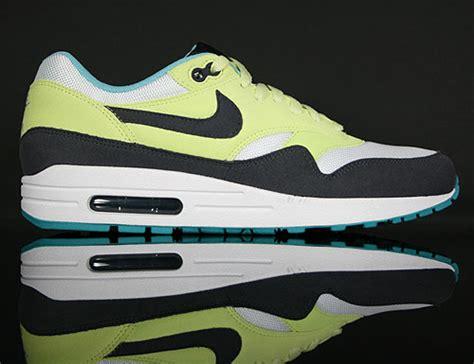 Nike Air Max 1 Citrine Yellowgridion White nike wmns air max 1 quot citrine yellow gridiron white quot purchaze