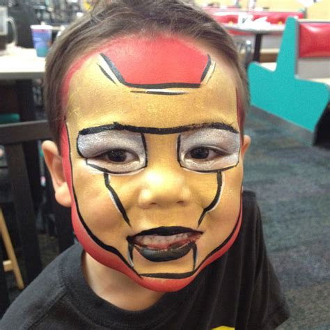 paint man the gallery for gt iron man face painting mask