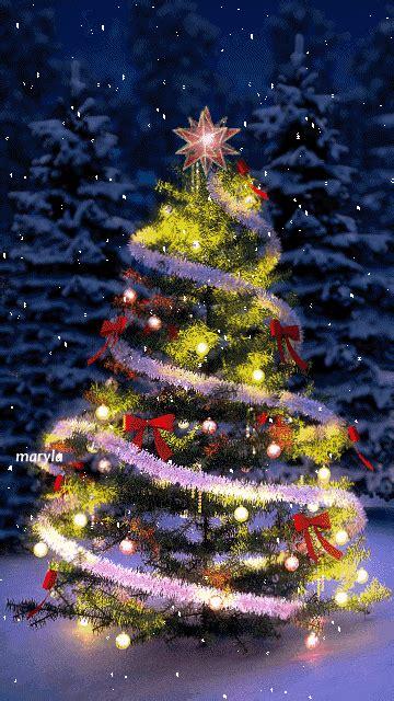 imagenes gif de arboles de navidad