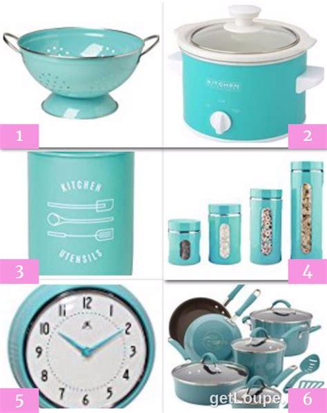 blue kitchen accessories where i found them all
