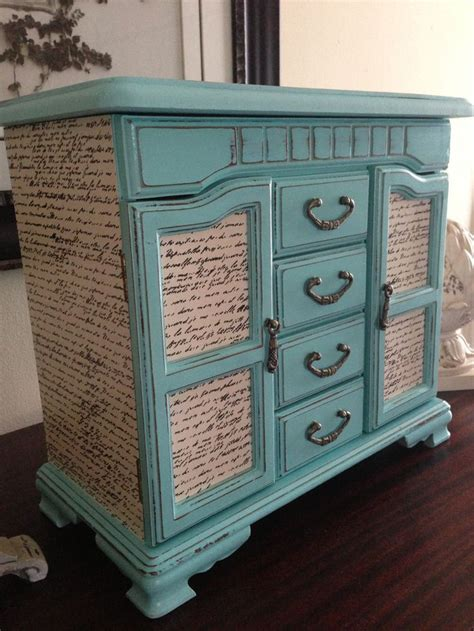Decoupage Dresser Ideas - 39 furniture decoupage ideas give things a second