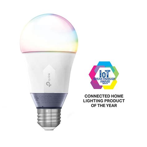 tp link light bulb tp link 60 watt smart wi fi led bulb with tunable white