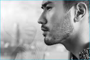 godfrey gao side profile godfrey gao is dashing in fendi for elle men hong kong