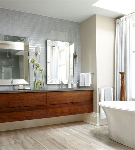 Floating Vanity Bathroom Clutter Free Bathrooms With Vanities