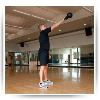 single step swing kettlebell single arm swing